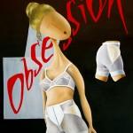 Obsession, 2014, Huile sur toile (92x65cm)