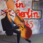 Berlin, 2014, Huile sur toile (116x89cm)