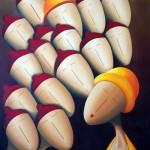 Pourquoi Ille ? 2015 - Huile sur toile (73x60 cm)