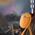 New York 2001, 2016, Huile sur toile (100x73cm)