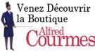 Alfred Courmes, la boutique