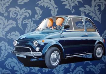 Commander le portrait de votre voiture ou de celle dont vous rêvez !